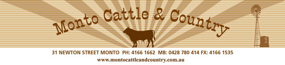 Monto Cattle Country