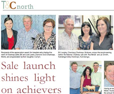 Queensland Country Life - 2011 national Sale Launch